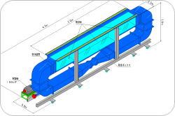 小型振動流水槽イメージ図
